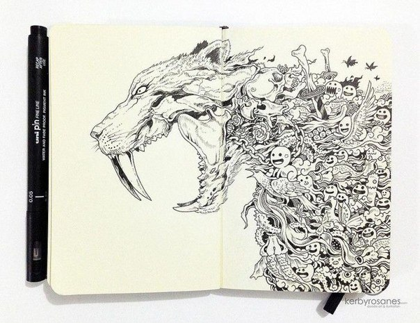 Каракули на бумаге