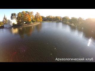 Ольгин и Царицын павильоны в Петергофе