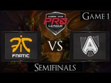 [ENG] The Alliance vs Fnatic - Game 1
