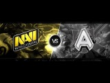 Alliance vs Navi #1 - @Versuta & 4ce - Dota 2 DreamLeague Season 3 Lan