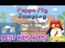 Peppa Pig Jumping Свинка Пеппа Прыгаем по облакам игровой мультик для детей на русском языке