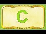 la Multipedia de animales. Letra C - el Canario