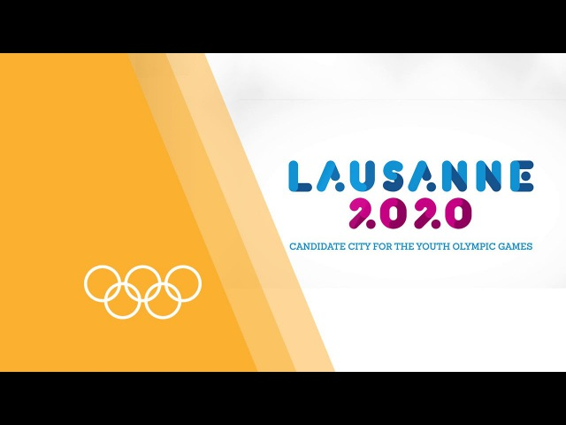 Welcome to Lausanne 2020 Host City for the Winter Youth Olympic Games 2020
