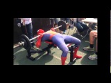 Человек-Паук на соревнованиях по Русскому Жиму (6 sec)