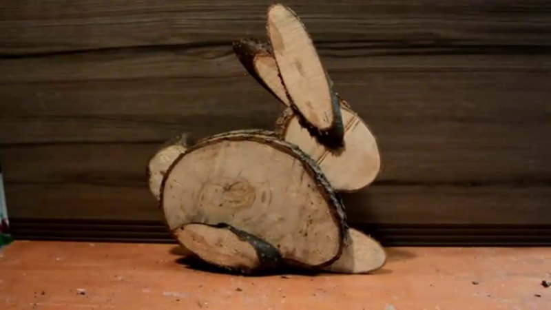 Из спилов дерева фото