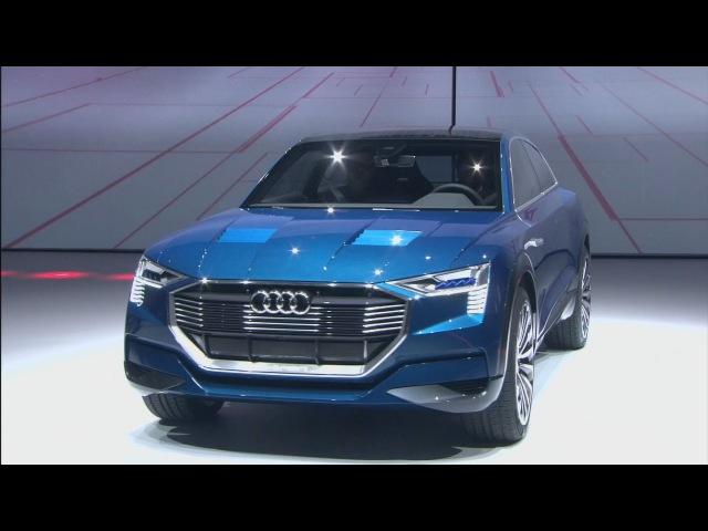 2016 Audi e-tron quattro concept - World Debut - LIVE - Frankfurt IAA