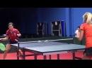 Уроки настольного тенниса на Новой Риге. Урок 1.