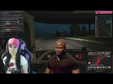 Троллинг стримерши в етс) Euro Truck Simulator 2 Multiplayer.