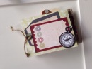 Украшение мини альбома своими руками - Скрапбукинг мастер-класс / Aida Handmade