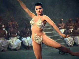 Debra Paget in Fritz Lang's epic The Indian Tomb (1959) English Dub