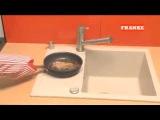 Мойка для кухни Franke fragranit (фрагранит) - тест на прочность!