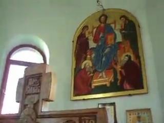 Часовня над могилкой схиигумена Иеронима.Санаксарский мужской монастырь