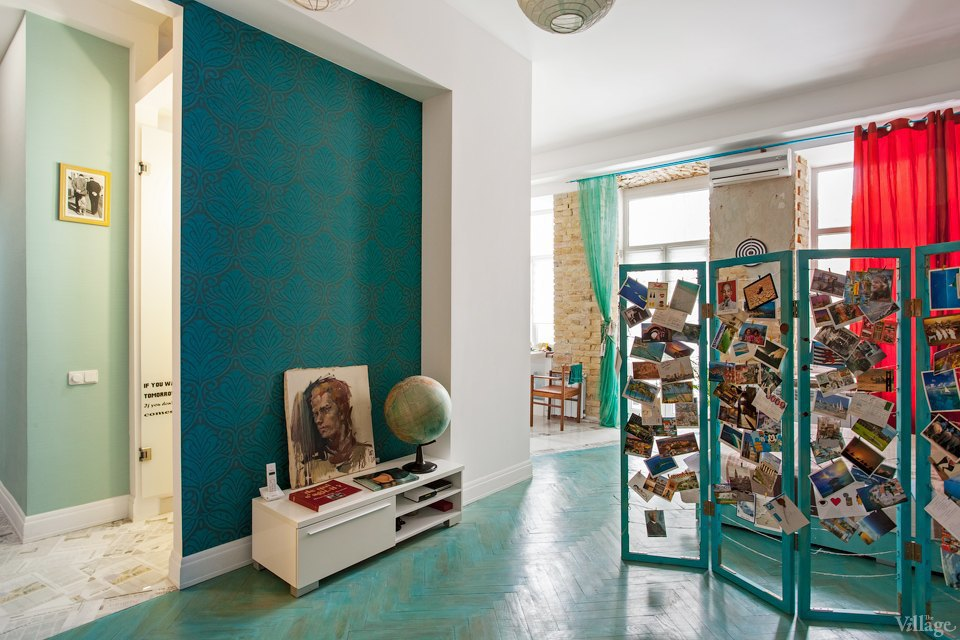 Студия из 1-комнатной квартиры почти 41 м в Киеве.