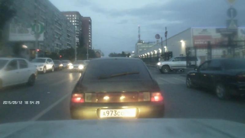 ДТП, м-н ОКЕЙ, г. Ростов-на-Дону, 12 сентября 2015 г