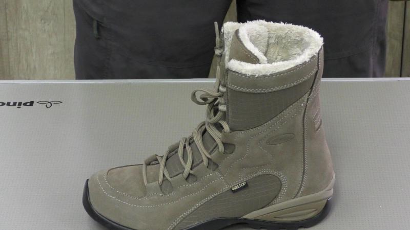 теплые женские ботинки asolo demetra gv.MTS