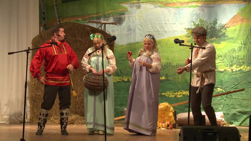 Концерт на День Сельского хозяйства 2015 г.Сухиничи
