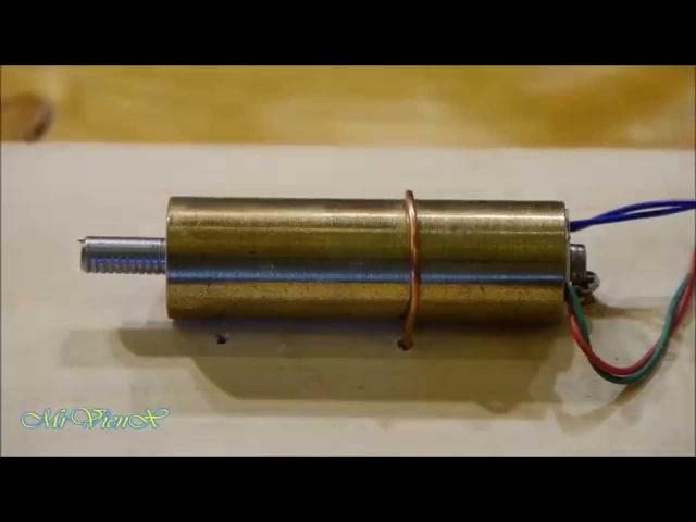 Управление штихелем через геркон