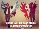 Добрая и Злая концовка в inFamous Second Son