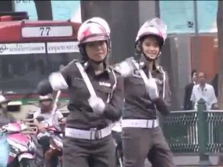 SEX SHOOTER music video unofficial w/ Thai policewomen dancing