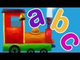 ABC Song Train l abcd 2 songs I Animal Alphabet Song