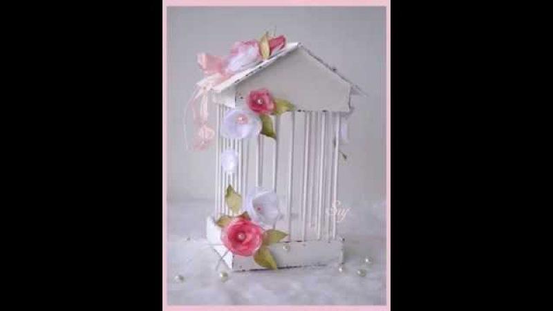 Мастер класс декоративная клетка.Master class decorative cage.