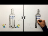 Speed Drawing - Drunk Minions And Vodka DK ( King Vanila VS Denis Kova
