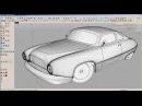Sketchup car modeling realtime workflow