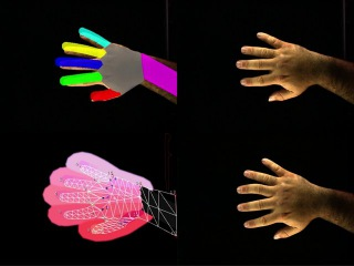 Augmented Hand Series (Debug View)