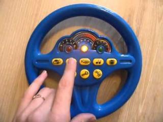 Обзор детская игрушка - Joy Toy Руль Антошка