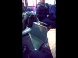 Ананист в автобусе 37 Домодедовская
