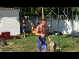 Антон Ковать 4 место Фристайл Чемпионал про Street Workout(Богусла 02.08.15)