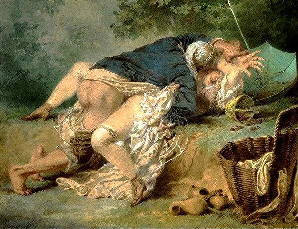 картины эротические художников