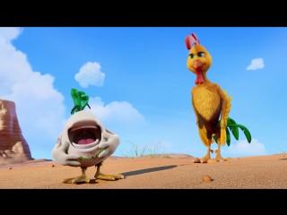 Крутые яйца - Un gallo con muchos huevos (Русский трейлер-2 2015)