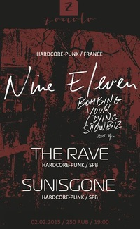 02.02.2015 / NINE ELEVEN (FRANCE) / ZOCCOLO 2.0
