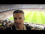 футбол, находимся на матче Барселона против Байер