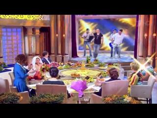 Айрат Сафин, DJ Radik, DJ Niyaz и Рустам Байбиков на передаче Давай поженимся (3.09.2015)