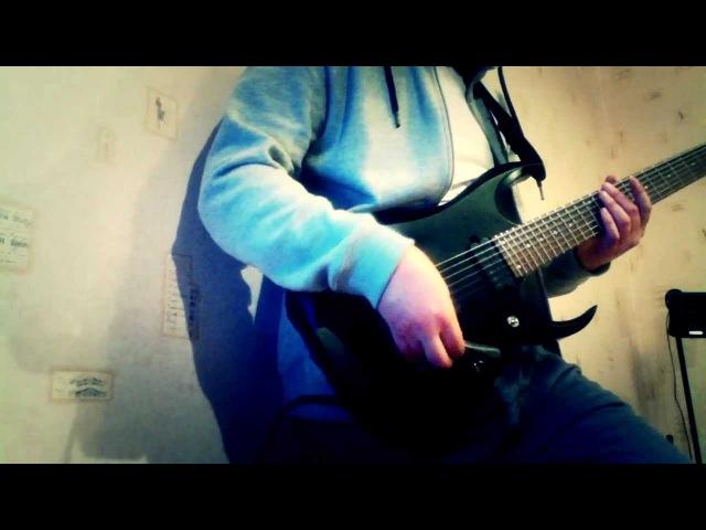 Нас не догонят (ТАТУ dubstep remix) - djent cover (Andrey Menshikov)
