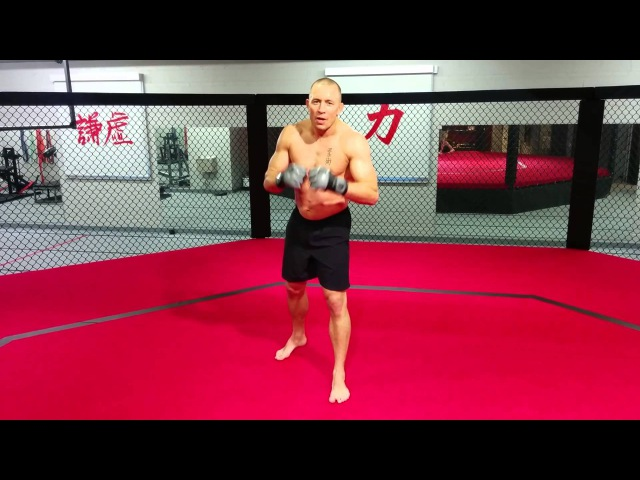 Georges St-Pierre On His Famous Superman Punch Technique