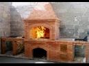 мангал из кирпича с печью под казан порядовка видео инструкция