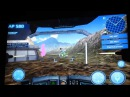EXEQ AIM Pro (JXD s7800b) при подключении к ТВ, игра: MetalWars3