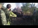 Эксклюзив Зона АТО После ожесточенного боя 07 10 ДНР Донбасс
