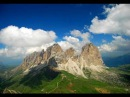 Paragliding in Dolomites, Col Rodella