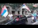 DELIRIJUM NA ULICAMA Srbija slavi svetsku titulu Orlića