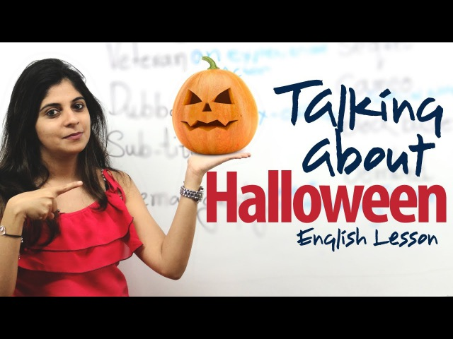 Halloween - English Lesson ( ESL )