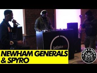 Spyro Newham Generals - GetDarkerTV 270 [Born Bred Warm-Up]