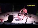 Funniest strike ever FAIL Funniest mma move ever ivey rolls away from ken shamrock barrel roll