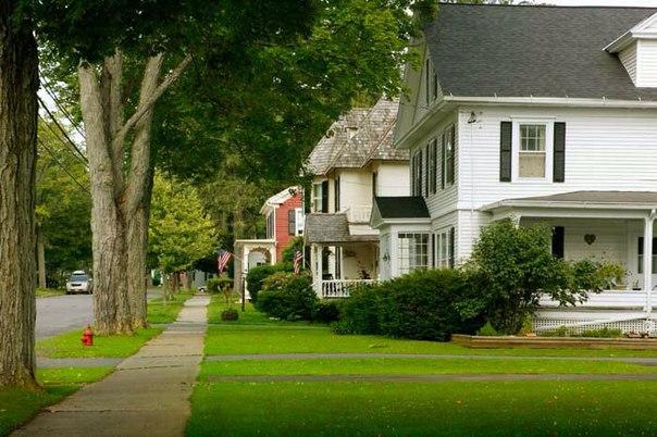 Американские дома фото