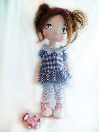 Милые куклы из ткани