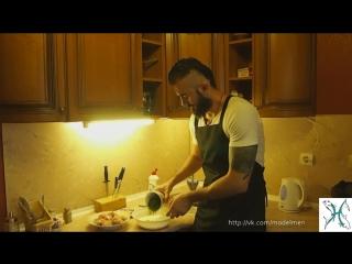 Бородатые рецепты - выпуск 4 (курица в кефире)