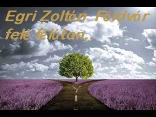 Egri Zoltán Földvár felé félúton